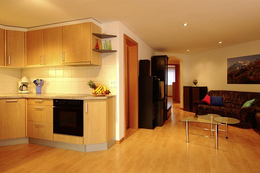 City Küche-Wohnzimmer